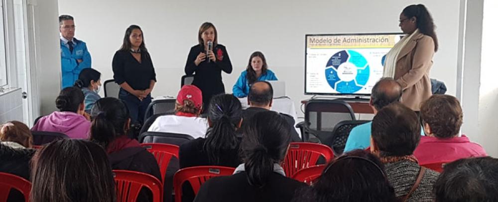 Gestión del IPES en la Plaza Distrital de Mercado Doce de Octubre