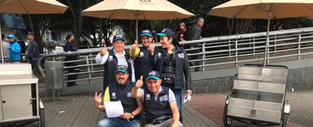 Alcaldía de Bogotá entregará 17 módulos de la nueva alternativa mobiliario Semi-estacionario