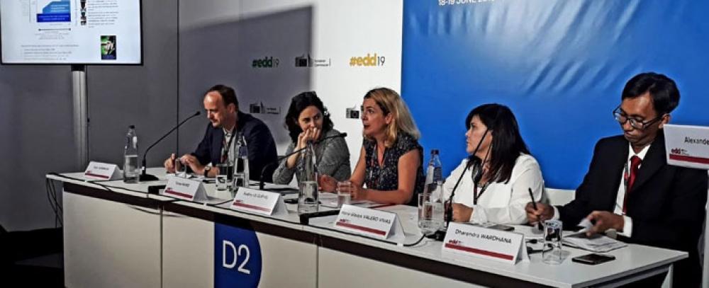 """IPES presente en el debate """"Protección social universal: Dela pobreza a la desigualdad"""" en las jornadas Europeas del Desarrollo 2019"""