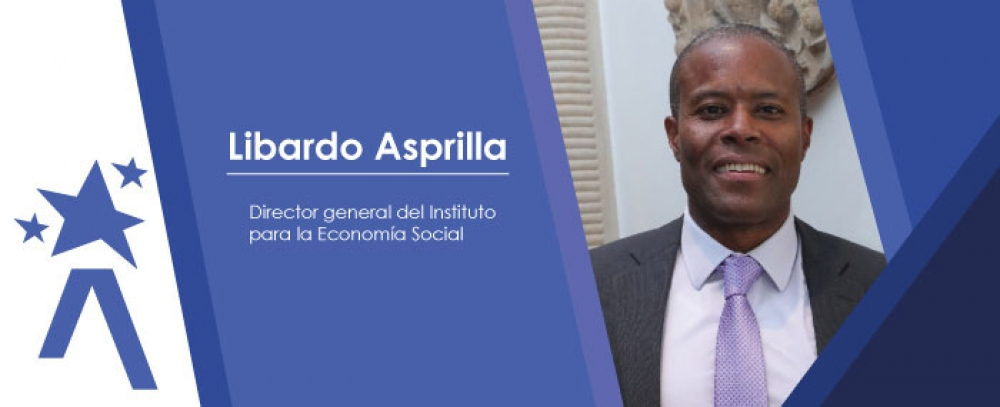 Libardo Asprilla, director del Instituto para la Economía Social