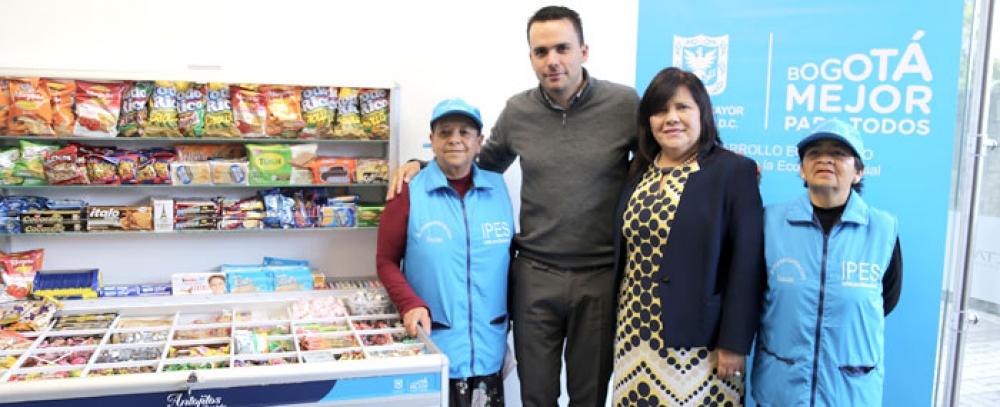 Alcaldía de Bogotá y empresas privadas unidas para brindar oportunidades a los vendedores informales