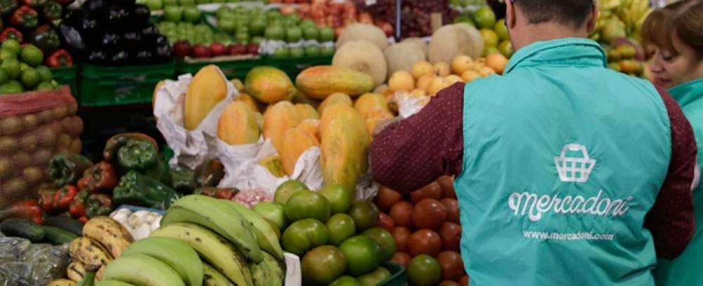 Alianza Plazas distritales de mercado y Mercadoni: productos en su hogar, directamente del campo, sin salir de casa.