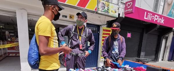 El IPES acompaña el inicio de la cuarentena estricta en las localidades de Engativá, Barrios Unidos y Suba