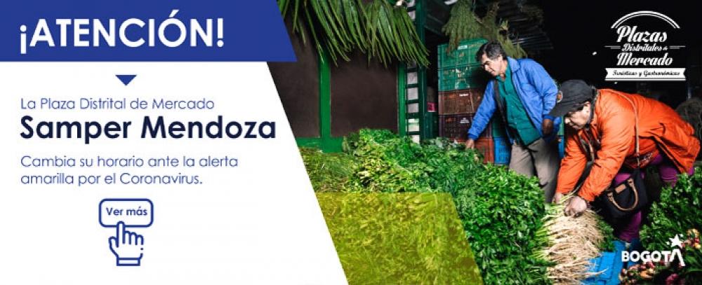 La Plaza de las hierbas cambia su horario por el COVID - 19